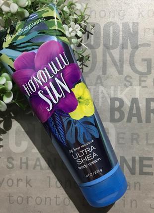 Увлажняющий крем для тела bath and body works - honolulu sun (сша)