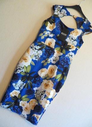 Трендовое платье в цветы от бренда misslook
