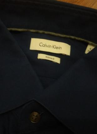 Крутейшая рубашка из новых коллекций от calvin klein fitted