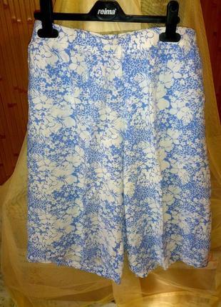 Вискозные шорты с карманами,пот-42-56см,bonprix.48-54разм