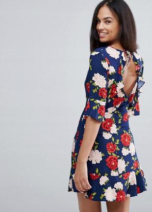 New look квітчаста сукня у ретро-стилі