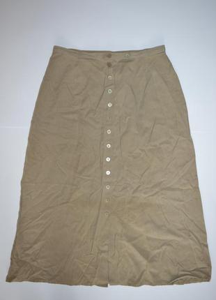 Актуальная юбка миди с пуговицами