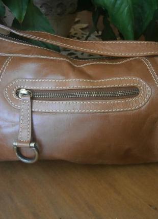 Аккуратная сумка, 100%натуральная кожа