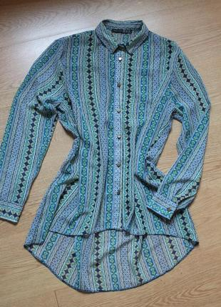 Блуза длинная