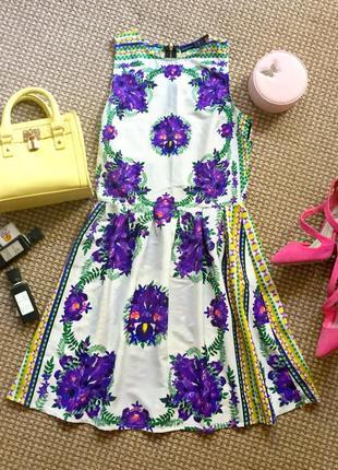 Супер красивое платье в цветочный принт
