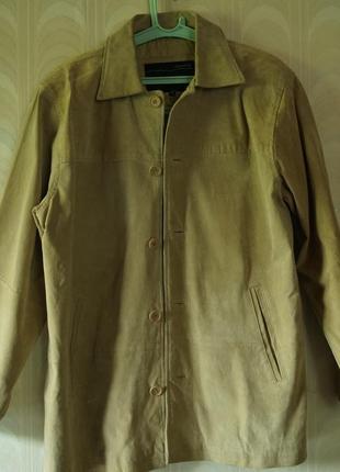 Демисезонная замшевая куртка nowon