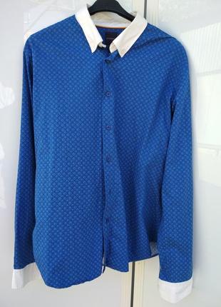 Рубашка promod франция   р.  хл