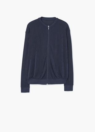 Очень стильный бомбер/летняя куртка