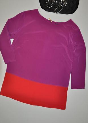 Яркая фирменная блуза marks & spencer