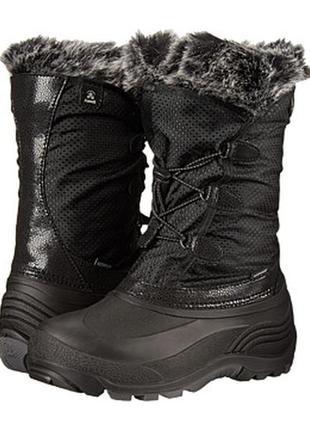 Сапоги зимние kamik powdery winter boot для девочки, р. 37,5-38
