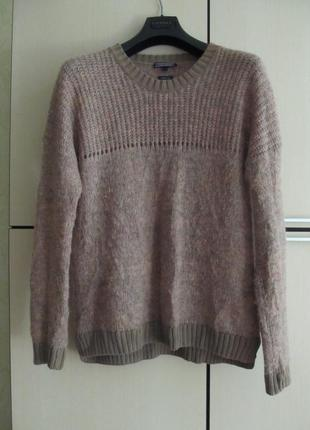 Теплый свитер кофта машер / шерсть