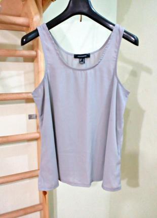 Легкая летняя базовая блуза