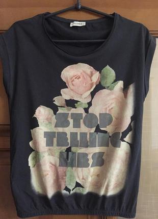 "Женская футболка ""pull&bear """