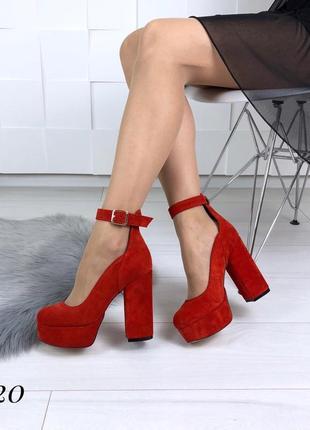 Шикарные туфли из натуральной замши. размеры с 36 по 40