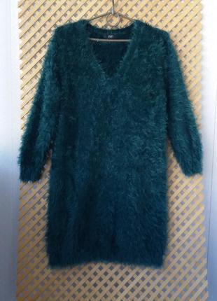 Красивый свитер- травка