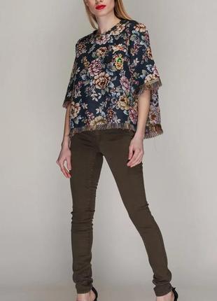 Zara джинсы брендовые/// много брендовых вещей///