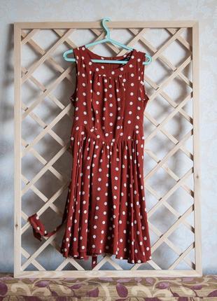 Платье в горошек dorothy perkins