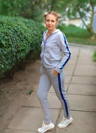 Спортивный прогулочный костюм для мамы, папы, дочки, сына family look