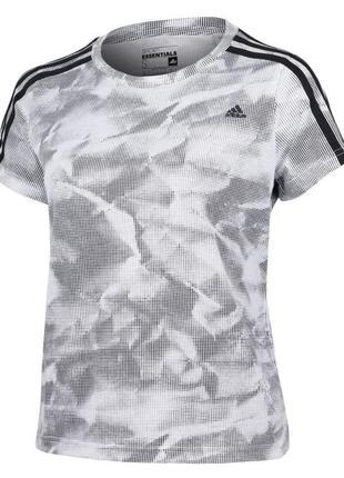 Серая спортивная футболка adidas sport essentials размер хс