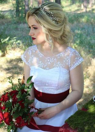 Свадебное платье для вечера, фотосессии