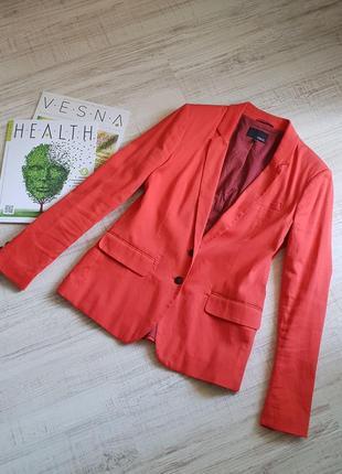 Яркий классический пиджак