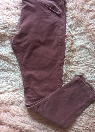 Вельветовые брюки скини next размер 16