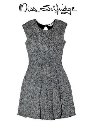 Монохромное платье miss selfridge