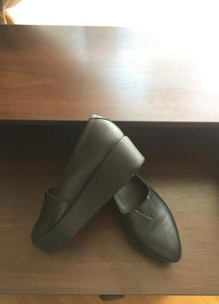 Туфли на платформе vagabond