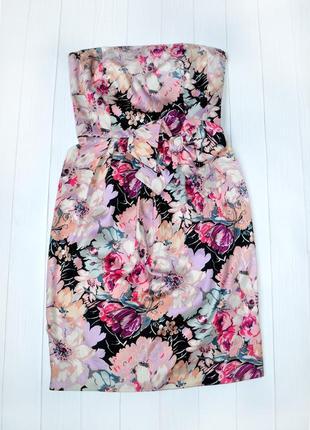 Нарядное вечернее платье корсет, бюстье floral frocks by oasis, размер 10