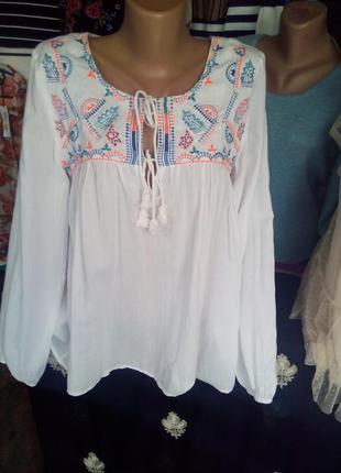Фирменная блуза(вышиванка)