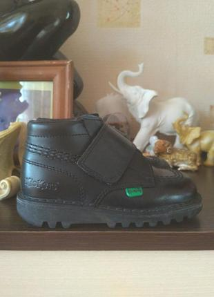 Кожаные ботинки kickers размер 25.