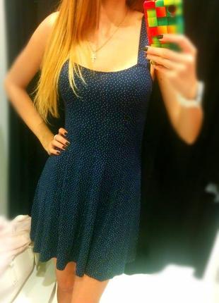 Милое платье / сарафан bershka