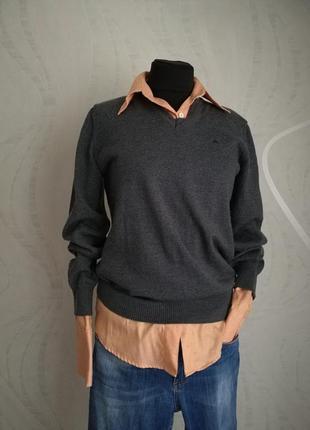Базовый шерстяной джемпер пуловер блуза