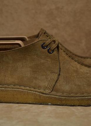 Туфли clarks originals desert trek полуботинки ботинки. оригинал. 40 р./25.5 см.