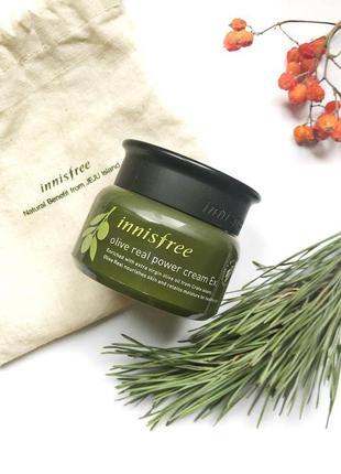 Оливковий крем для сухої шкіри innisfree