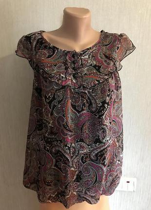 Блуза 👚 new look можно беременным р. 12 брит
