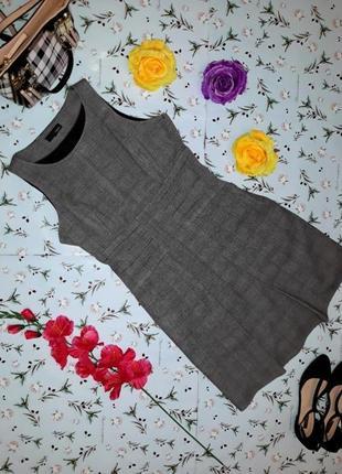 Школьное серое платье - сарафан от next, размер s - m