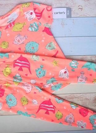 Пижама картерс, набор, костюм carters. на 12 мес, 18 мес,2,3,4,5