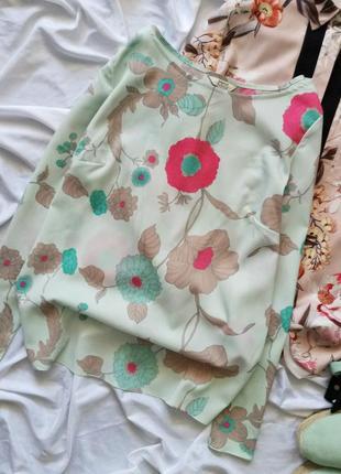 Блуза рубашка с вырезом на спинке atmosphere