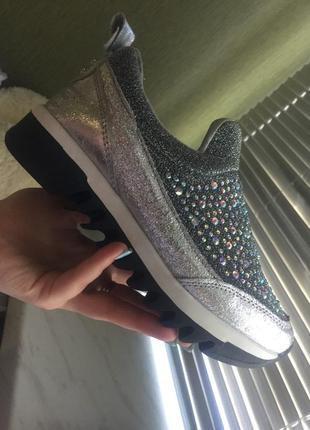 Обувь в блестках 36 р
