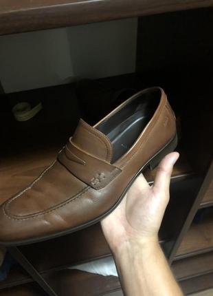 """Мужские туфли оксфорды топсайдеры (от известного всем бренда -""""hugo boss"""" сделани в италии"""