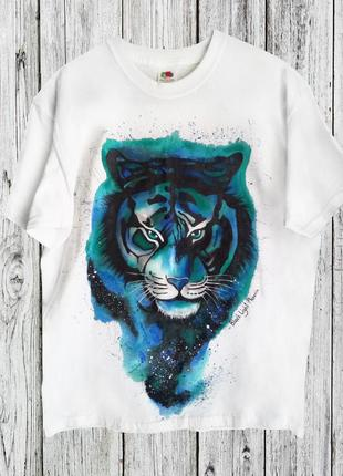 Мужская футболка с тигром