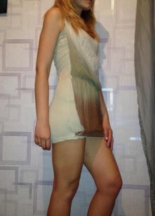 Платье сарафан короткое лето