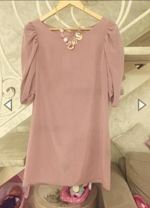 Короткое красивое платье h&m