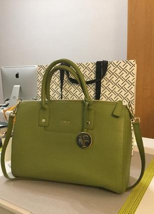Сумка furla linda satchel