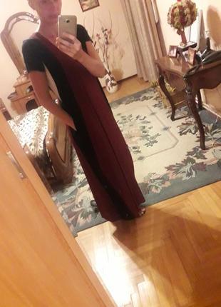 Платье макси zara