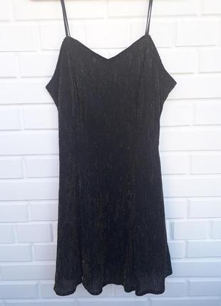 Очень красивое платье на брителях с люрексом на новый год