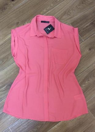Блуза новая розовая