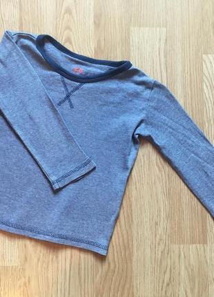 Лонгслив, кофта с рукавом, реглан для мальчика h&m, размер 86-92