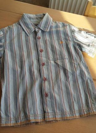 Mexx рубашка на мальчика 98-104